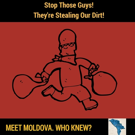 It is a crime to remove the world famous soil from Moldova.